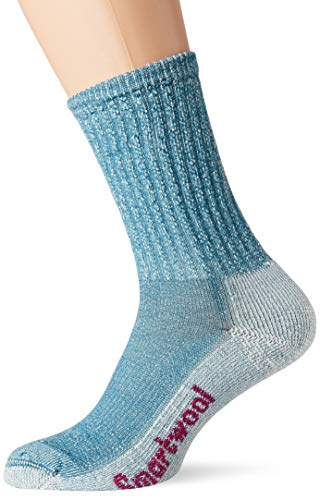 Smartwool Damen Hike Light Crew Socken, Blau (Peacock), M