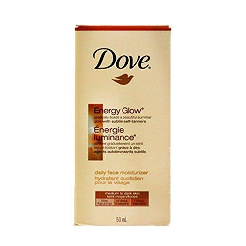 Dove Energy Glow Daily Face Moisturizer – Medium To Dark – 50ml
