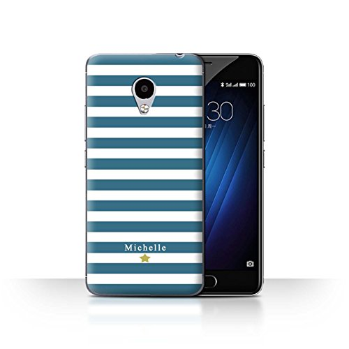 Stuff4Phone Case/Cover/Skin/mzum3s/Custom Stripes/Striped Collection Coeur Rayure Cerise
