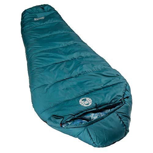 Coleman Kids 30 Degree Sleeping Bag, Blue Bandit