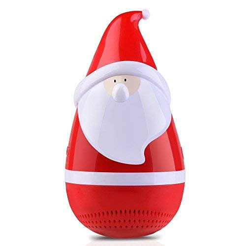 Portable Bluetooth Speakers Mini Tumbler Wireless Speakers Stereo Subwoofer for Kids Boys Home Party Outdoor Indoor ClarksZone - Red