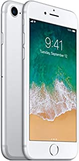 Apple iPhone 7, 32GB, Silver - For AT&T / T-Mobile (Renewed)