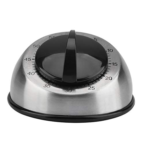 SANON Temporizador de Cocina Reloj Despertador Anillo de Cocción Contador Mecánico Temporizador de Cuerda Herramienta de Gestión Del Tiempo para El Aula O La Cuenta Regresiva para Niños Y Adultos