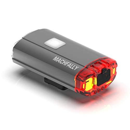 Sterke zaklamp voor fietsen, mountainbike, koplampen, USB-zaklamp, waterdicht, met paardeneffect