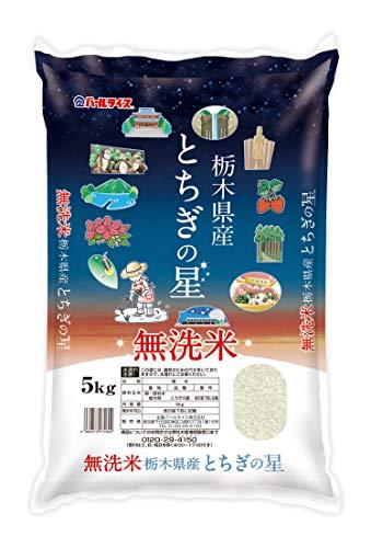 【精米】栃木県産 無洗米 とちぎの星 5kg 令和2年産