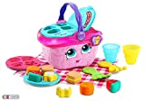 LeapFrog 603603 Shapes & Sharing Picnic Basket Baby Toy Educational and Interactive 16 Pieces for Creative and...