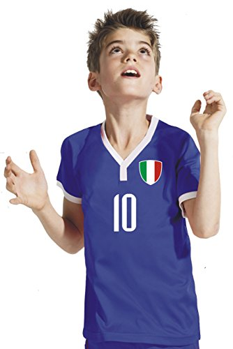 Aprom-Sports Children's Football Shirt with German Text BWB World Cup 2018 (128)
