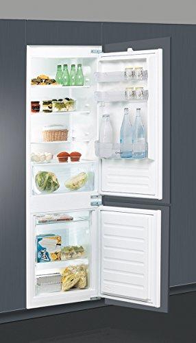 Indesit B 18 A2 D/I Integrado 275L A++ Acero pulido nevera y congelador - Frigorífico (275 L, SN-T, 35 dB, 3,5 kg/24h, A++, Acero pulido)