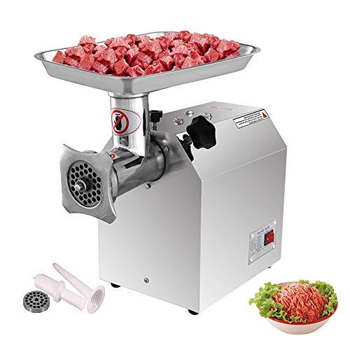 Picadora de Carne Eléctrica, 1100 W picadora de carne 220 kg/h Máquina...