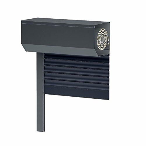 Vorbaurollladen SK45 - anthrazit - Aluminium BxH: 80x130 cm - Gurt - 39er Lamelle - Maßanfertigung ohne Aufpreis!