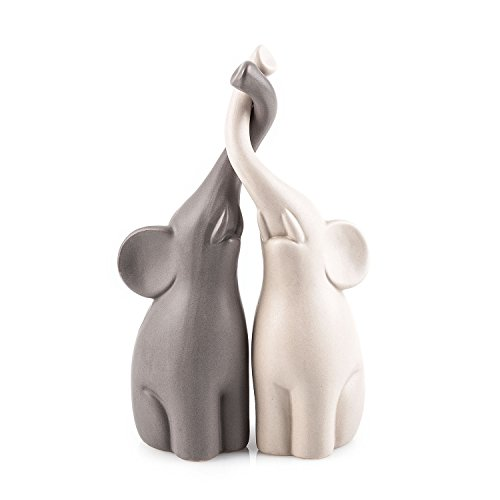 Verliebte Elefanten 2er Set, Höhe 25,5 cm