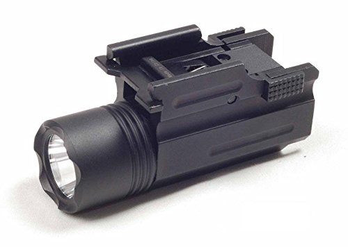 Ade Advanced Optics Strobe 200 Lumen CREE C4 LED Flashlight for Compact Pistols