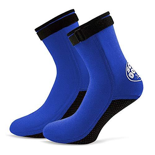 Lixada 3 MM Neopren Tauchen Socken Stiefel Wasser Schuhe Beach Booties Schnorcheln Tauchen Surfen Stiefel für Männer Frauen