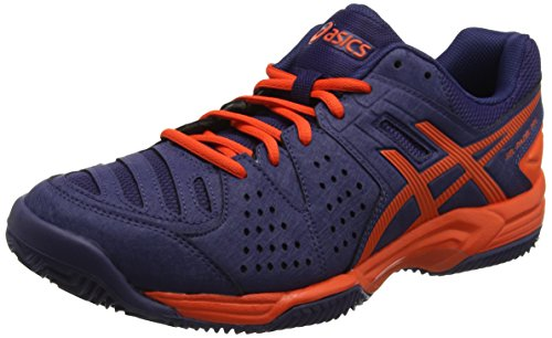 Asics Gel-Padel Pro 3 SG, Zapatillas de Tenis Hombre, Azul (Astral Aura / Cherry Tomato), 41.5 EU