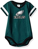 NFL Philadelphia Eagles Baby-Boy Dazzle Bodysuit, Team Color, 3-6 Months