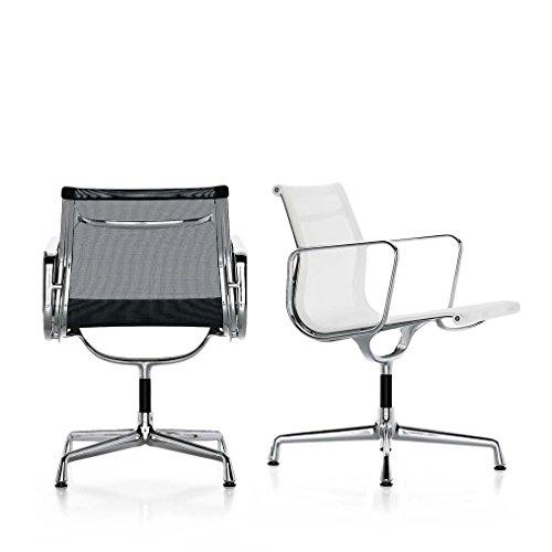 Vitra Aluminium Chair EA 108, schwarz