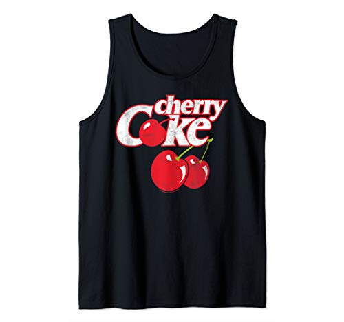Coca-Cola Cherry Coke Logo Tank Top
