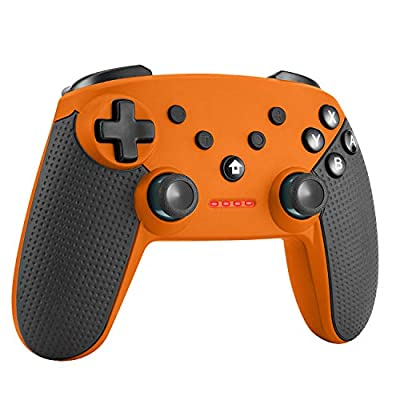 Etpark Controller for Nintendo Switch, Bluetooth Wireless Gamepad Joystick for Nintendo Switch Remote Controller with Adjustable Turbo Dual Shock Gyro Axis