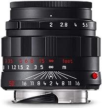 Leica 50mm f2 APO Summicron - Black Chrome