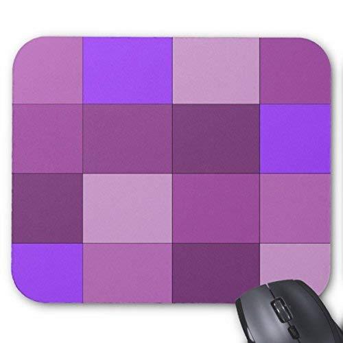 Mousepad Purple Plaid Mouse Mat