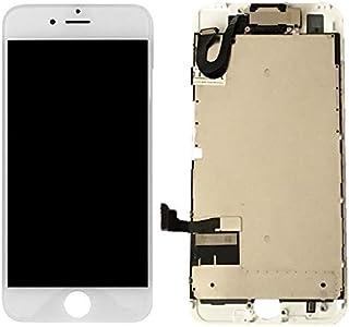 【SmaQ】再生パネル iPhone専用 修理パーツ 交換用液晶フロントパネル デジタイザ (iPhone7 白)