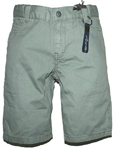 Lemmi Leichte Bermuda Shorts in Steingrau aus BW Popeline Weite MID Schnitt BOB 1760338053 Size 122