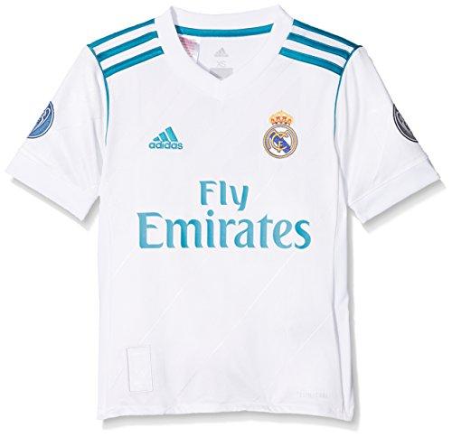 adidas H JSY UCL Youth Camiseta 1ª Equipación Real Madrid 2017-2018 LFP...