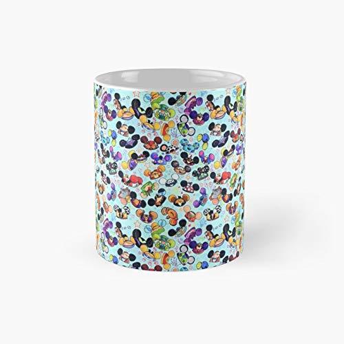 Taza clásica de personajes Hats | El mejor regalo divertidas tazas de café de 11 oz