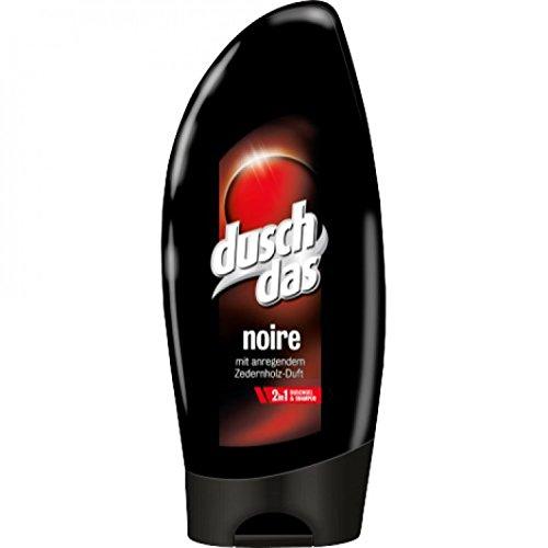 Duschdas Duschgel 250ml Noire , 6er Pack (6 x 250 ml)