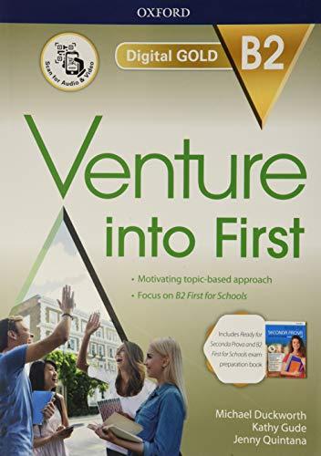 Venture into first. B2. Student's book-Workbook. Ready for seconda prova. Per le Scuole superiori. Con e-book. Con espansione online
