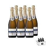 Valenger Brut - AOP Crémant de Bourgogne - Lot de 6 bouteilles x 75 cl