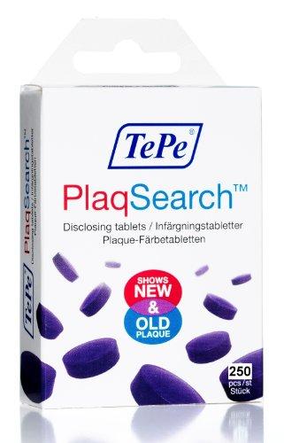 TePe Interdentalbürsten Plaqsearch multi-pack Tablets Pack 250Indikator Kesselstein