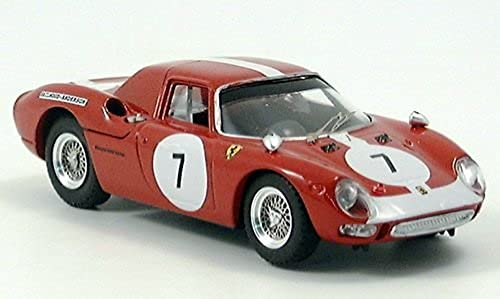 Ferrari 250 LM, Kyalami, No.7, Hailwood-Anderson, 1966, Modellauto, Fertigmodell, Best 1 43