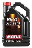MOTUL Lubricante para Motor 11113941, 8100X-Clean + 5W30,5L