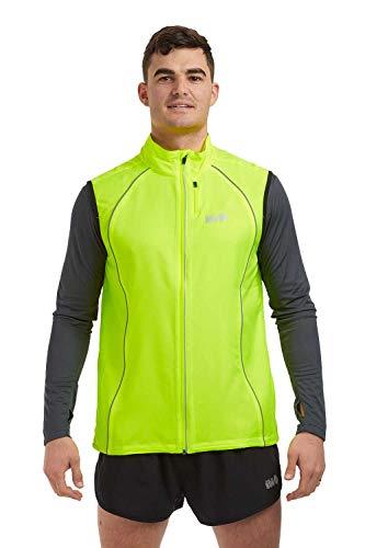 Windfeste Joggingveste für Herren Limette Grün L