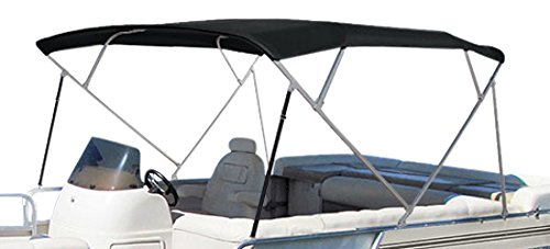 Eevelle Summerset Premium Bimini Replacement Top   4 Bow Replacement Top   Durable, High Performance, Waterproof, UV Resistant, Heavy Duty