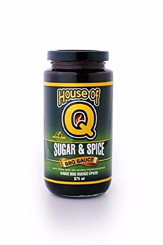 Salsa BBQ House of Q 'Sugar & Spice' (Azúcar y Picante) - 340g (12 oz)