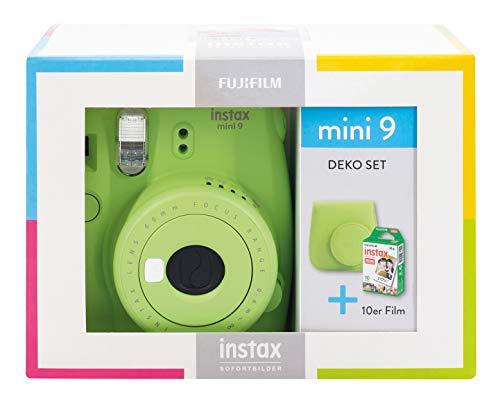 Instax Mini 9 Lime Green Travel Set - Juego de Accesorios de