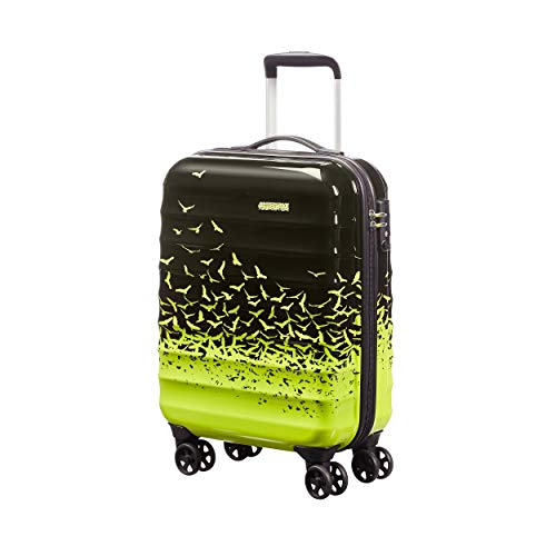 American Tourister Palm Valley Spinner 55/20, Bagaglio a mano, Litri 32, Fly Away Green