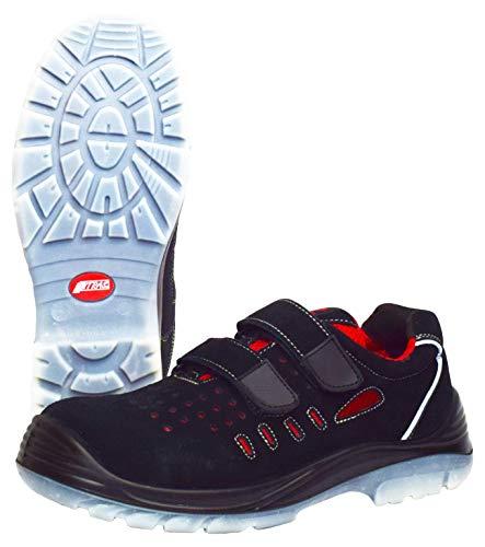 Sandalias de Trabajo Nitras 7312 Easy Step Summer - Zapatos de Seguridad S1P para Hombres y Mujeres - Zapato Antideslizante con Puntera