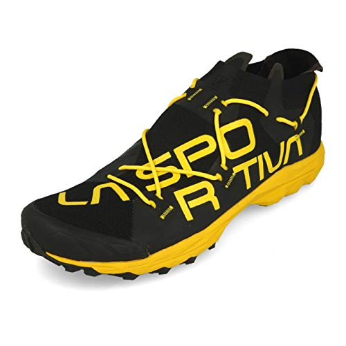 La Sportiva VK, Zapatillas de Trail Running Hombre, Multicolor (Black/Yellow 000), 42.5 EU