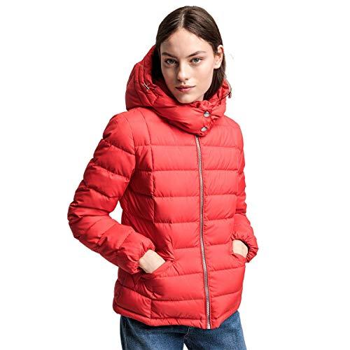 GANT Damen Jacke Daunenjacke Classic Down Jacket Steppjacke in Rot Größe S