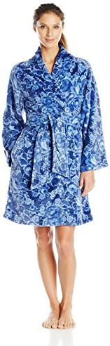 Ahh By Rhonda Shear Robe Women's Wrap Printed Cheap 67% OFF of fixed price mail order shopping