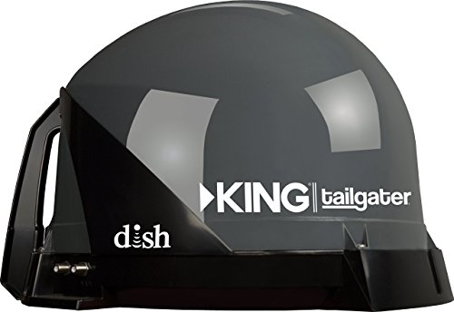 KING VQ4500 Tailgater Portable or Roof Mountable Satellite TV Antenna