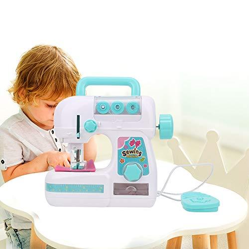 【𝐏𝐫𝐨𝐦𝐨𝐜𝐢ó𝐧 𝐝𝐞 𝐒𝐞𝐦𝐚𝐧𝐚 𝐒𝐚𝐧𝐭𝐚】 Juguetes para máquinas de Coser, máquina de Coser eléctrica de tamaño Mediano, Juguete Educativo Interesante para niños, niñas, niños, Desarrollo de Ha