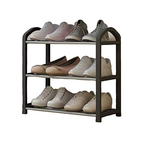 ALIPC Simple Zapatero,Almacenamiento A Prueba De Polvo De Montaje Estante De Zapatos Desmontable Apilable Organizador De Zapatos Gabinete Torre del Zapato-a 40x19x40cm(16x7x16inch)