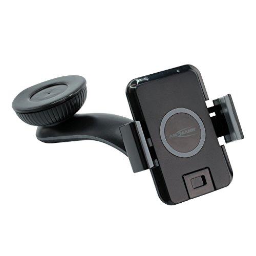 ANSMANN WiLine KFZ Qi-Ladegerät Induktion Ladestation für Smartphones Qi Wireless Charger drahtlose Ladung Samsung Nokia iPhone