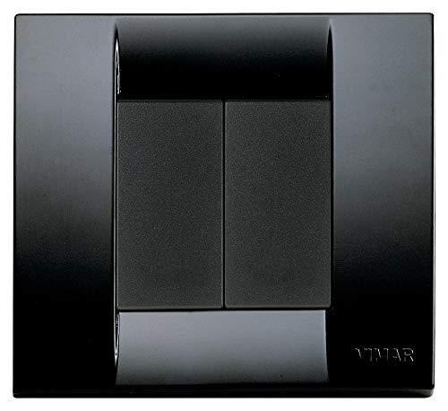 Vimar 0K03925.09 Idea Kit comando connesso, senza fili e senza batteria, VIEW Wireless standard Bluetooth completo di supporto, tasti, placca 2M