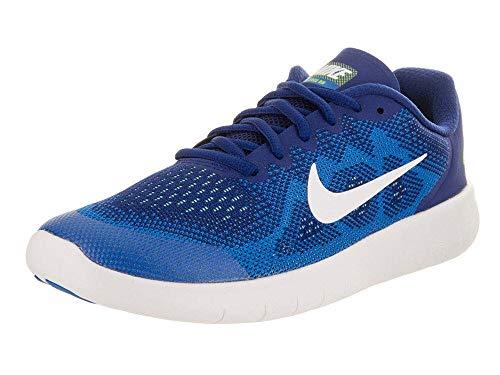 Nike Free RN 2017, Scarpe Running Unisex-Bambini, Arancione (Orange/Schwarz 400), 38 EU