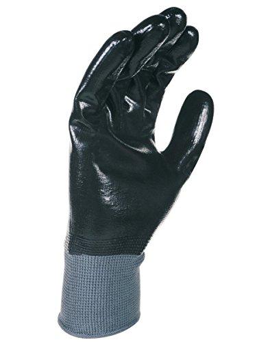 Singer - Paire de gants nitrile tout enduit - Support polyester - Jauge 15 - Taille 9 - NYM157NB